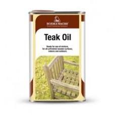 Тиковое масло TEAK OIL от Borma Wachs (для дерева)