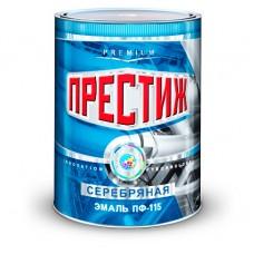 """Эмаль ПФ-115 серебрянная """"Престиж"""""""